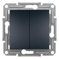 ASFORA Csillárkapcsoló, csavaros bekötés, antracit (105)