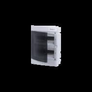 Elosztódoboz C sorozat, 2x12 (24) modul, süllyesztett, átlátszó fekete ajtó, 283x357x70mm, IP40