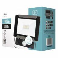 Fényvető LED 20W 4000K 1600Lm mozgásérzékelős IP54 IDEO
