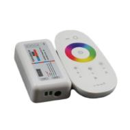 MiLight RGB LED Vezérlő DC12-24V 10A Fehér Touch Távirányítóval