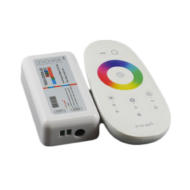 MiLight RGBW LED Vezérlő DC12-24V 10A Fehér Touch Távirányítóval