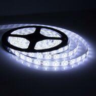 LED szalag öntapadó hideg fehér 60smd/m, 14,4W/m , IP54 (05-0811/hideg)
