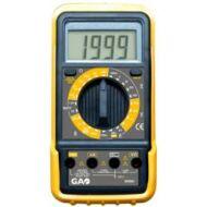 Digitális mérőkészülék egyenfeszültség (DC) 200 mV - 250 V, egyenáram (DC) 200 μA - 10 A, váltakozó