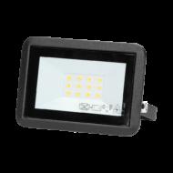 BULLED Fényvető LED 10W 4000K 800Lm 230V fekete IP65 ORNO