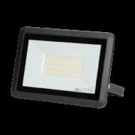 BULLED fényvető LED 50W 4000K 4000Lm 230V fekete IP65 ORNO