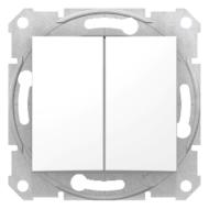 SEDNA Csillárkapcsoló, rugós bekötés, 10AX, fehér (105)