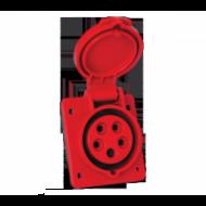 Dugalj ipari 5x16A beépíthető rugós-gyors bekötésű IP44