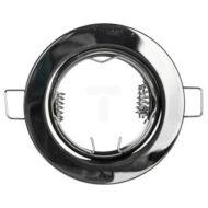 Beépíthető lámpatest fix Parma IP20 fekete króm
