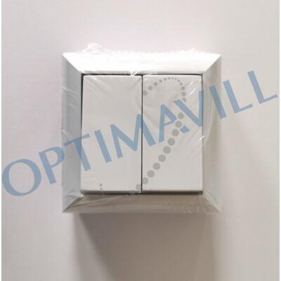 BUSINESS LINE F. SZ. csillárkapcsoló, hátlapos, felületre szerelhető beltéri kivitel, fehér, 230V~ 5