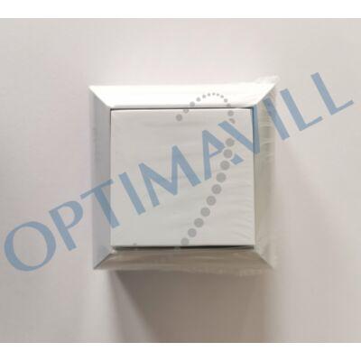 BUSINESS LINE F. SZ. váltókapcsoló, hátlapos, felületre szerelhető beltéri kivitel, fehér, 230V~ 50H