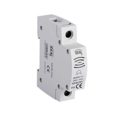 Csengő sínre szerelhető KDOB-230V IP20