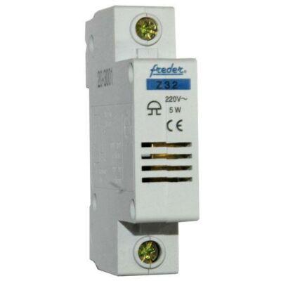 Csengő sínre pattintható 230V, 1 modul (02-345)