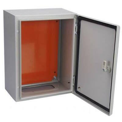Lemez szekrény 120x80x30cm szerlappal IP55 Freder (32-400/120)