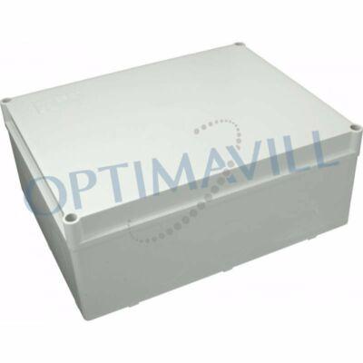 Kötődoboz 240x190x90mm IP66 S-BOX (39-124)