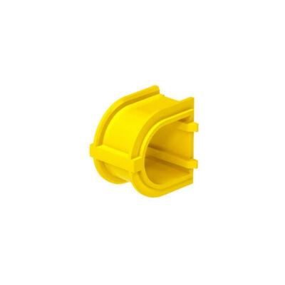 BIP illesztődarab, két gipszkarton dobozhoz, IP20, sárga