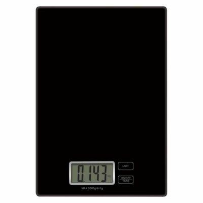 Konyhai mérleg - fekete - max.5 kg