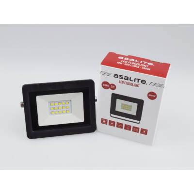 LED fényvető 10W 4500K 800Lm SMD IP65 fekete 100x80x22mm 120°