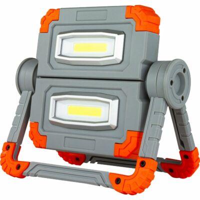 LED fényvető 10W 6500K 2x500Lm akkumulátoros hordozható (munkalámpa) IP20 FLEX POWER