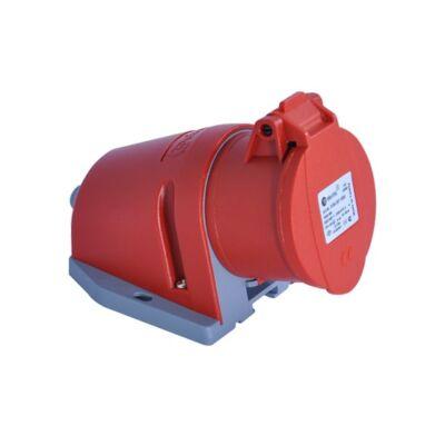 Dugalj ipari 5x32A IP44 ráépíthető, rugós bekötésű