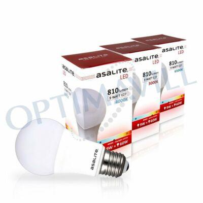 LED izzó 9W E27 3000K 810lum ASAL0011