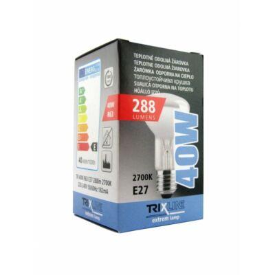 Hagyományos izzó 40W E27 R63 rezgésálló reflektor TRIXLINE
