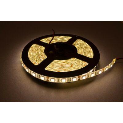 LED szalag öntapadó meleg fehér 60smd/m, 4,8W/m IP54 (05-34121/meleg)