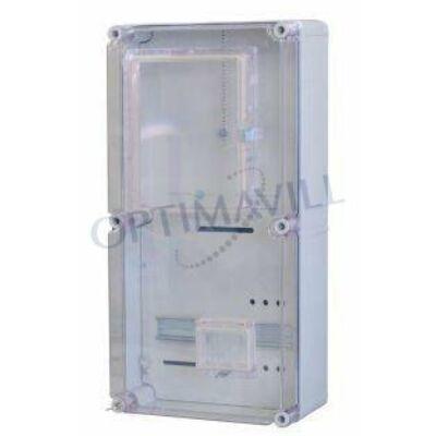 PVT EON 3060 1/3 VFM AM fogy.mérő szekrény egy mérőhelyes éjszakai fogy.mérés 300x600x170mm