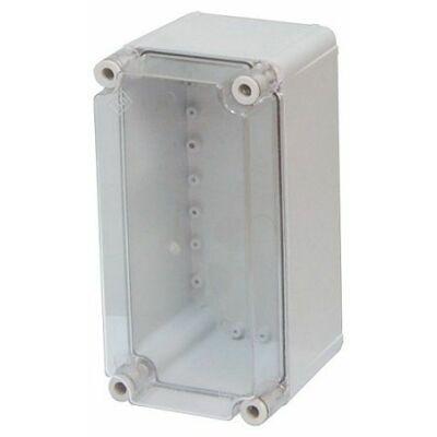 PVT-1530-ÁF 150x300x170 mm üres szekrény átlátszó PC fedéllel