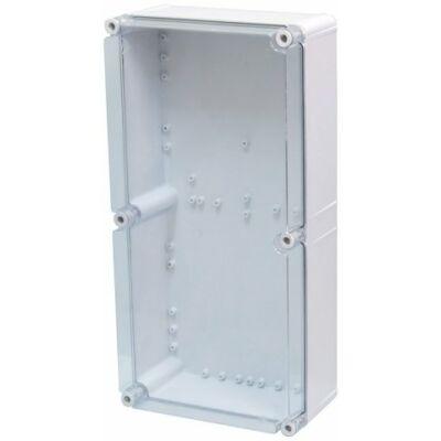 PVT-3060-ÁF A2 üres szekrény 300x600x170 mm üres szekrény átlátszó PC fedéllel