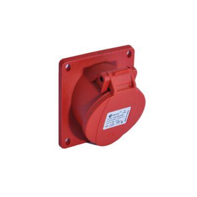 Dugalj ipari 16A 5p beépíthető, ferde, IP44