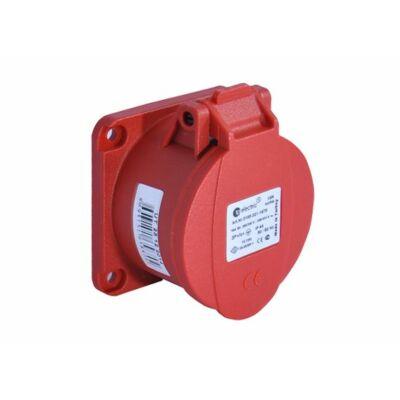 Dugalj ipari 32A 5P beépíthető (ferde 83x90) IP44
