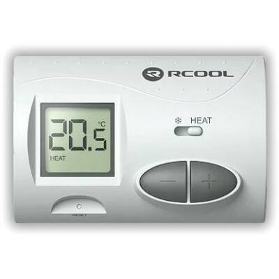 Szobatermosztát RCOOL RC3 digitális nem programozható (TSZDIG016)